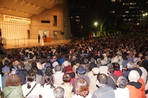 4・8大集会&デモ、約5000人が参加