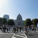 9.29 「安倍政権の暴走を止めよう!」国会包囲共同行動