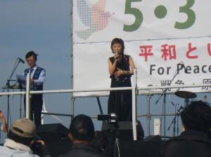 クミコさんによる歌