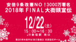 安倍9条改憲NO!3000万署名2018年FINAL大街頭宣伝(12月22日)